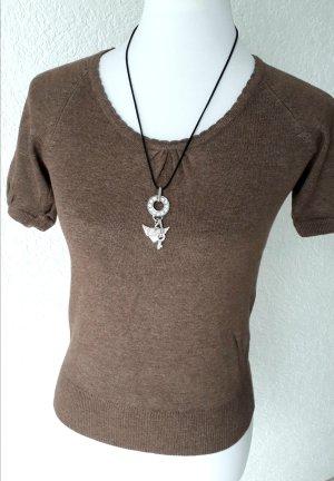 Sale%%süßes Shirt,braun,S/36