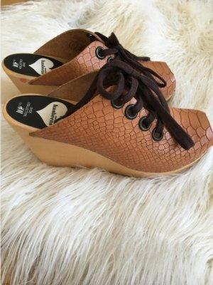 H&M Socque multicolore cuir