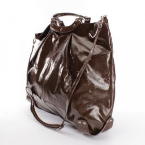 Stefanel Weekender Bag brown