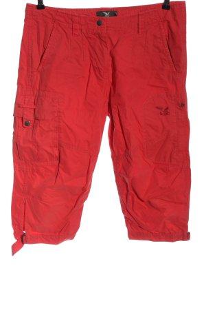 Salewa Pantalon 3/4 rouge style décontracté