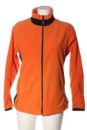 Salewa Giacca in pile arancione chiaro stile casual