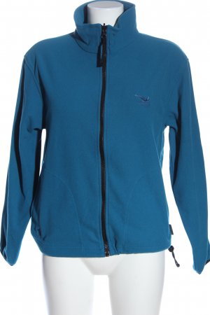 Salewa Polarowy sweter niebieski W stylu casual