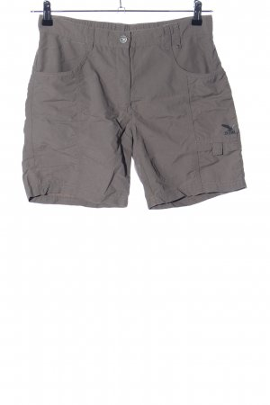 Salewa High-Waist-Shorts hellgrau Casual-Look
