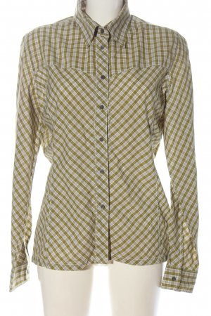 Salewa Lumberjack Shirt green-white allover print elegant