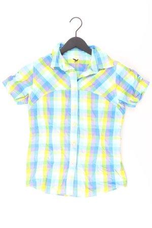 Salewa Short Sleeved Blouse blue-neon blue-dark blue-azure