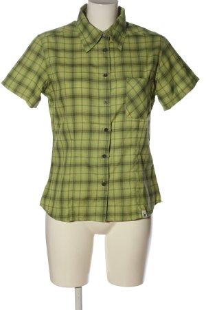 Salewa Camisa de manga corta estampado a cuadros look casual