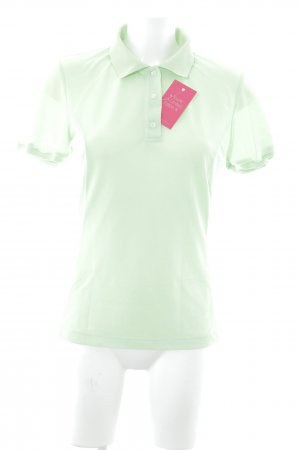 Salewa Polo-Shirt neongrün Casual-Look