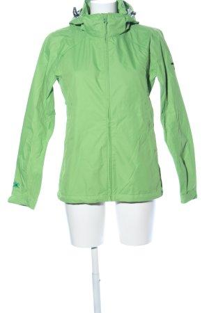 Salewa Raincoat green casual look