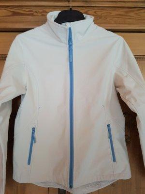 Salewa Giacca softshell bianco sporco-blu fiordaliso Poliestere