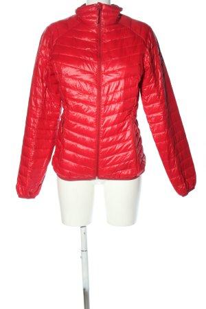 Salewa Giubbotto trapuntato rosso motivo trapuntato stile casual