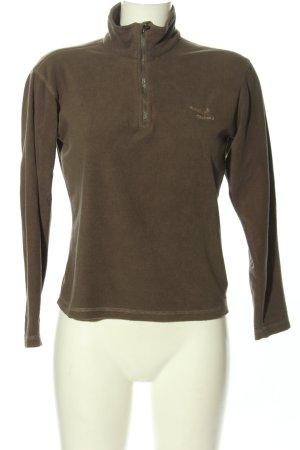 Salewa Jersey marinero marrón letras bordadas look casual