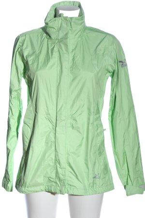 Salewa Between-Seasons Jacket green-light grey allover print casual look