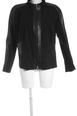 Sallie Sahne Übergangsjacke schwarz-dunkelblau Casual-Look