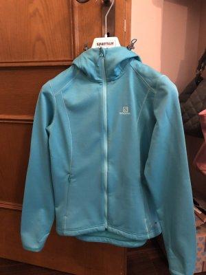 Salomon Sports Jacket turquoise