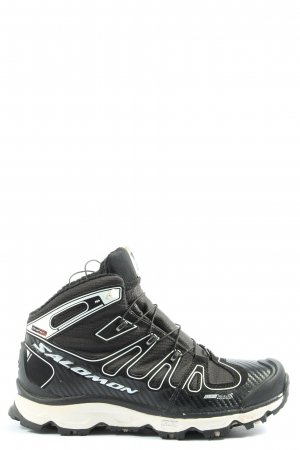 Salomon Wedge Sneaker black-white casual look