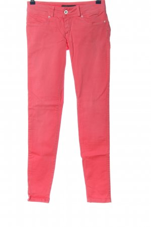 Salsa Pantalone a vita bassa rosa stile casual