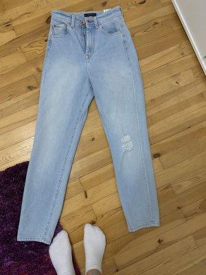 Salsa Jeans Jeans taille haute bleu clair