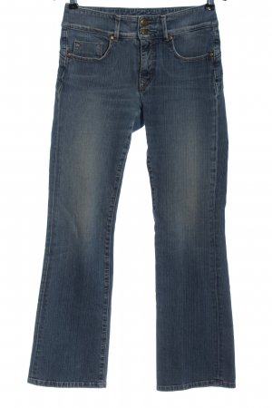Salsa Jeans Jeansschlaghose blau Casual-Look