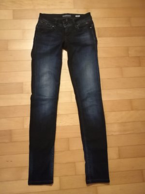 Salsa Jeans Slim Jeans dark blue cotton