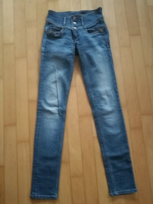 Salsa Jeans Slim Jeans steel blue cotton