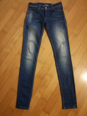 Salsa Jeans Slim Jeans azure-steel blue cotton