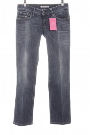 Salsa Jeans Stretch Jeans blau Casual-Look