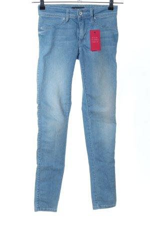 Salsa Skinny Jeans blau Casual-Look