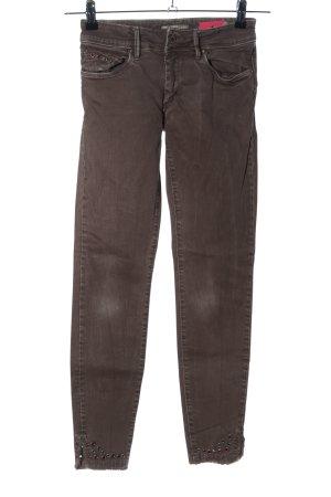 Salsa Skinny Jeans braun Casual-Look