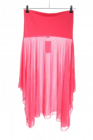 Saltabad Pleated Skirt pink weave pattern casual look