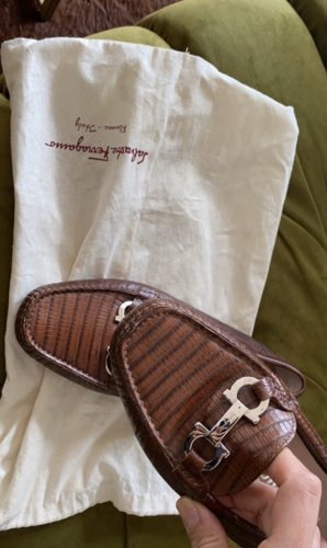 Salvatore Ferragamo 37 loafer Mokassins