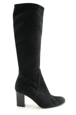 Salvatore ferragamo Absatz Stiefel schwarz Elegant