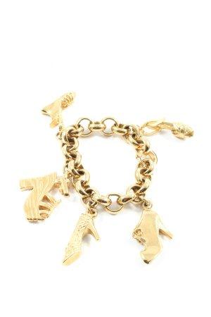 Salvatore ferragamo Charm Bracelet gold-colored elegant