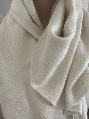 Ferragamo Knitted Scarf cream