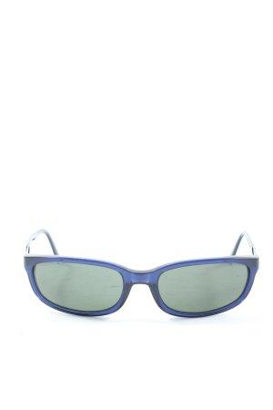 Salvatore ferragamo eckige Sonnenbrille blau Casual-Look