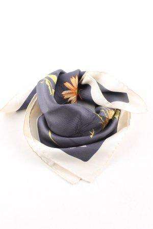 Salvatore ferragamo Neckerchief natural white-blue allover print elegant