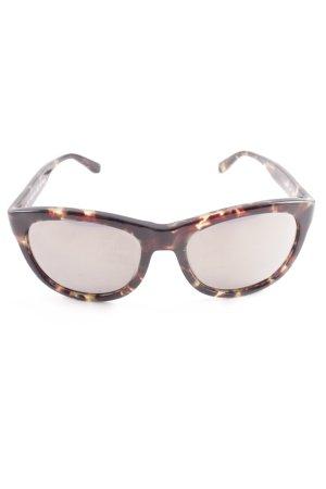 Salvatore ferragamo Karée Brille Farbverlauf schlichter Stil