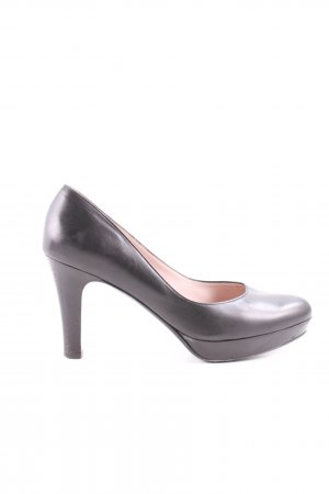 Salvatore ferragamo Plateau-Pumps schwarz Business-Look