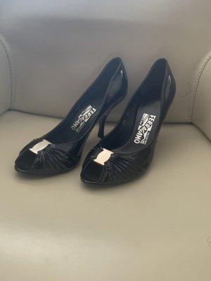 Salvatore Ferragamo Pumps High Heels Gr.38 NEU