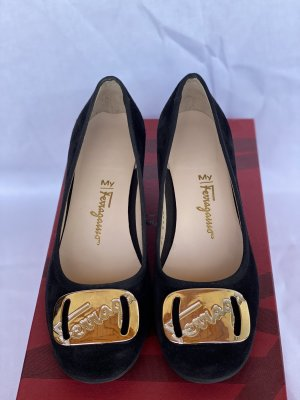 Salvatore Ferragamo Pumps My charm nero *new* size 36