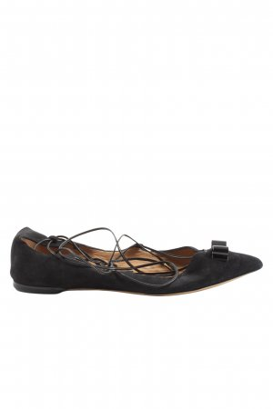 Salvatore ferragamo Strappy Ballerinas black casual look