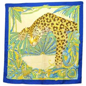 Salvatore ferragamo Gebreide sjaal blauw Zijde
