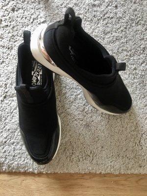 Salvatore ferragamo Wedge Sneaker black-white