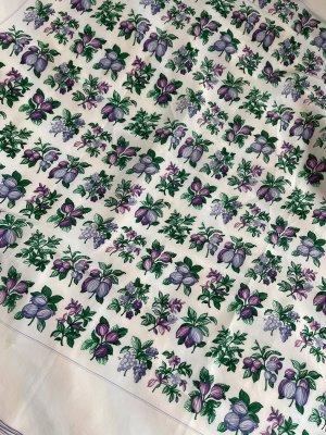 Salvatore ferragamo Foulard en soie blanc-violet foncé