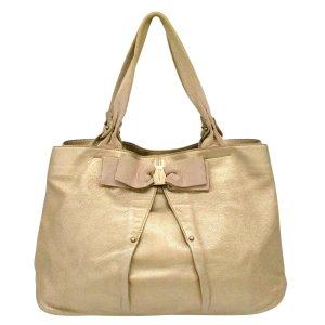 Salvatore ferragamo Shoulder Bag beige textile fiber