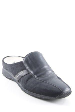 Salvatore ferragamo Slipper schwarz Casual-Look
