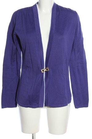 Salvatore ferragamo Cardigan in maglia lilla stile casual