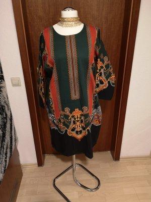 Gul ahmed Sukienka dresowa ciemnozielony