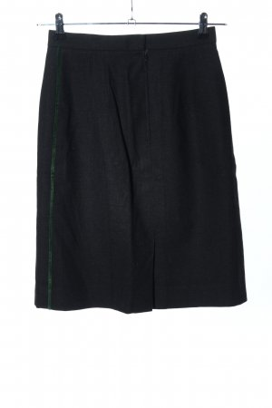 Jupe bavaroise noir-vert style d'affaires