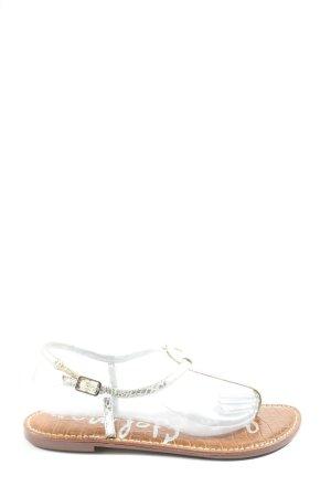Sam edelman Dianette-Sandalen silberfarben-braun Casual-Look