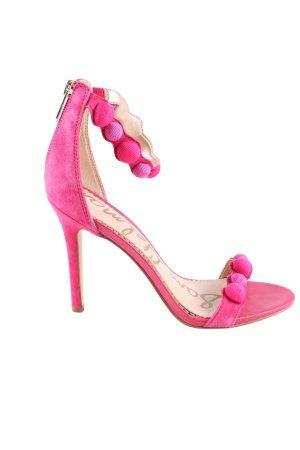 Sam edelman High Heel Sandaletten pink extravaganter Stil